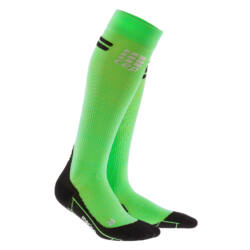 CEP Run merino socks gyapjú kompressziós futózokni női viper/black