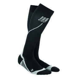 CEP Run Socks 2.0 kompressziós futózokni női black/grey
