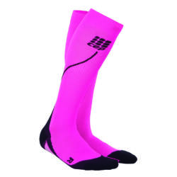 CEP Run Socks 2.0 kompressziós futózokni női pink/black