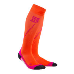 CEP Run Socks 2.0 kompressziós futózokni női sunset/pink