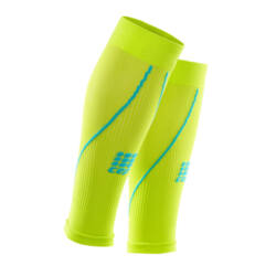 CEP Calf Sleeves 2.0 kompressziós sportszár férfi lime/hawaiiblue