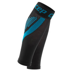 CEP Nighttech calf sleeves kompressziós sportszár női blue