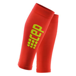 CEP Ultralight calf sleeves kompressziós sportszár férfi red/green