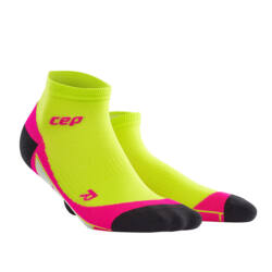 CEP Low cut socks női lime/pink
