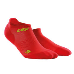 CEP Ultralight no show socks női red/green