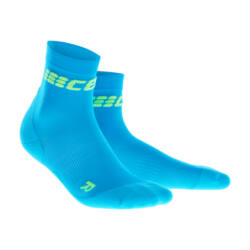 CEP Ultralight short socks férfi electric blue/green