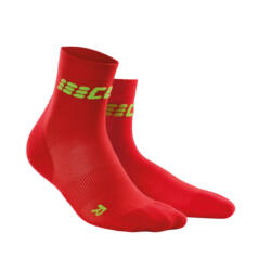 CEP Ultralight short socks férfi red/green
