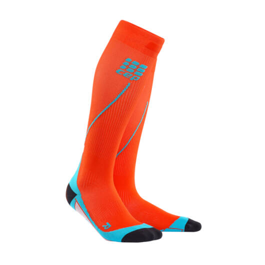 CEP Run Socks 2.0 kompressziós futózokni férfi sunset/hawaii blue